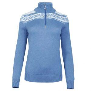 Cortina Merino Dames Trui blauw
